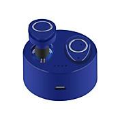 TWS-F1 I øret Trådløs Hodetelefoner Piezoelektricitet Plast Kjøring øretelefon Med ladeboks Med mikrofon Headset