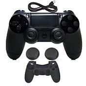 for PS4 Trådløs Bluetooth 3.0 Ingress Protection Marking (IP-kode) - Sony PS4 0 Med Lader Spillhåndtak Trådløs Blits Kontroll Vibrering >