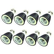 8pcs 7W 550 lm E14 E26/E27 LED-spotpærer 1 leds COB Dekorativ Varm hvit Kjølig hvit 220V-240V