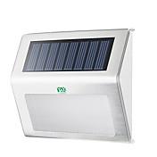 YWXLIGHT® 1pc 2W Luces solares LED Impermeable Decorativa Iluminación Exterior Blanco Cálido Blanco Fresco DC3.7V