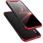 Funda Para Apple iPhone X iPhone 8 Ultrafina Funda Trasera Color sólido Dura ordenador personal para iPhone X iPhone 8 Plus iPhone 8