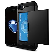 Funda Para Apple iPhone 7 / iPhone 6 Soporte de Coche Funda Trasera Un Color Dura ordenador personal para iPhone X / iPhone 8 Plus / iPhone 8