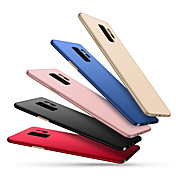 Etui Til Samsung Galaxy S9 S9 Plus Ultratynn Bakdeksel Helfarge Hard PC til S9 Plus S9 S8 Plus S8 S7 edge S7