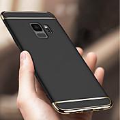 Etui Til Samsung Galaxy S9 S9 Plus Støtsikker Belegg Bakdeksel Ensfarget Hard PC til S9 Plus S9 S8 Plus S8 S7 edge S7 S6 edge S6
