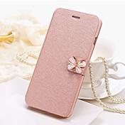 Etui Til Samsung Galaxy S8 Plus S8 Kortholder Heldekkende etui Helfarge Sommerfugl Hard PU Leather til S8 Plus S8 S7 edge S7 S6 edge S6