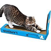 Cat Nip Camas Simple Amigable con las Mascotas Almohadilla para Arañar Sin Parabeno Sin Formol Nébeda Cartón de papel Para Gatos