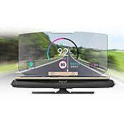 Hodet opp skjerm Foldbar til Bil Vis KM / h MPH