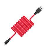 Mikro USB Høyhastighet / Hurtig kostnad Kabel Samsung / Huawei / Xiaomi til 100 cm Til silica Gel
