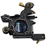 Low Carbon Steel Tattoo Machine Shader with 10 Wrap Coils