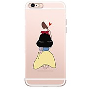 For Case Cover Ultra-thin Transparent Pattern Back Cover Case Cartoon Soft TPU for Apple iPhone X iPhone 8 Plus iPhone 8 iPhone 7 Plus