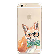 For Case Cover Ultra-thin Transparent Pattern Back Cover Case Dog Soft TPU for Apple iPhone X iPhone 8 Plus iPhone 8 iPhone 7 Plus iPhone