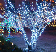 Lámpara de la secuencia de la luz blanca de 10m 6w 100-led para la decoración del festival de Halloween (110 / 220v)