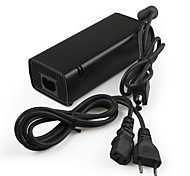 cheap -Europe Plug AC Adaptor for Xbox360 Slim Black Portable Cables & Adapters
