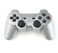 Недорогие -Серебристый  DualShock 3 контроллер для PlayStation 3 (PS3)