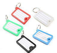 Mini Rectangle Travel Suitcase ID Luggage Tag (5 Pcs)
