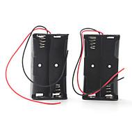 батарейный отсек для четырех аккумуляторов 18650 (черный)