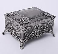 Недорогие -персонализированный марочный tutania прямоугольник тонкий коробка ювелирных изделий элегантный стиль