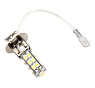 cheap -H3 26 SMD LED 5500K White Headlight Bulb 3W