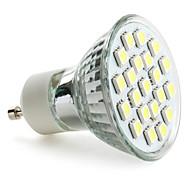 Недорогие -3 Вт. 6000 lm GU10 Точечное LED освещение MR16 21 светодиоды SMD 5050 Естественный белый AC 220-240V