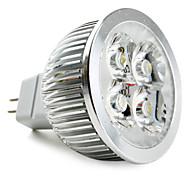 GU5.3(MR16) LED Spotlight MR16 4 leds High Power LED Natural White 5000lm 5000KK DC 12V
