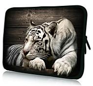 "Недорогие -отдыха неопрена тигр ноутбук рукав случае на 10-15 ""Ipad MacBook Dell HP Acer Samsung"