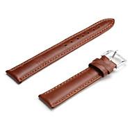 Unisex Genuine Leather Watch Strap 18MM(Brown) Cool Watch Unique Watch Fashion Watch