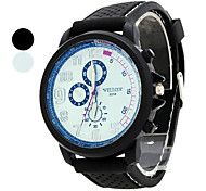 Unisex  Rubber Analog Quartz Wrist Watch (Assorted Colors) Cool Watch Unique Watch