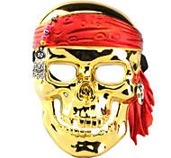 Гальваника пиратский череп маска для Хэллоуина Костюм партии