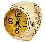 cheap -Women's Quartz Ring Watch Japanese Casual Watch Alloy Band Charm Fashion Gold