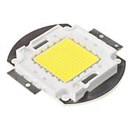 Недорогие -diy 100w 8000-9000lm 6000-6500k естественный белый свет встроенный светодиодный модуль (33-35v)