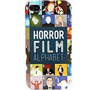 Horror Alphabet Hard Case für iPhone 4/4S