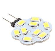 2w led g4 led luci 9 smd 5630 200-250lm bianco naturale 6000k dc 12v