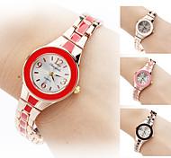 Women's Quartz Analog Gold Alloy Band Bracelet Watch (Assorted Colors) Cool Watches Unique Watches Strap Watch
