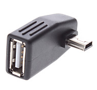 Mini USB Male to USB Female Adapter Phone Cables & Adapters Cell Phone Universal Accessories