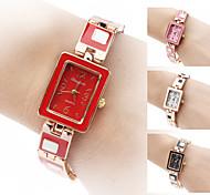 Damen Armband-Uhr Quartz Band Elegante Schwarz Weiß Rot Braun Rosa Weiß Schwarz Braun Rot Rosa