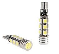 CANBUS T10 1.5W 12x5050 SMD светодиодные лампы белого для чтения автомобилей / боковые габаритные / Dashboard Light (12V, 2-Pack)