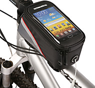 cheap -ROSWHEEL Bike Frame Bag Cell Phone Bag 4.2 inch Waterproof Zipper Water Bottle Pocket Dust Proof Touch Screen Phone/Iphone Cycling for