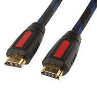 abordables -HDMI Cable for Smart LED HDTV, Apple TV, PS3, XBOX 360, Blu-ray (0.5 m, Negro y Amarillo)