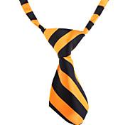cheap -Cat Dog Tie/Bow Tie Dog Clothes White Orange Nylon Costume For Pets Wedding