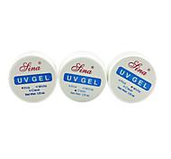 cheap -Nail Polish UV Gel  3pcs Ordinary Soak off Long Lasting  Daily Ordinary Handmade / Professional