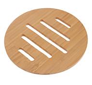"""6.5 """"oco linhas padrão Bamboo Coaster"""