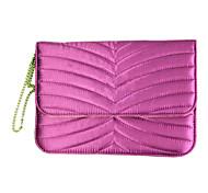 Недорогие -сумки дизайн драпировка атласной ткани чехол для Ipad Mini 3, Ipad Mini 2, Ipad мини (фуксия)