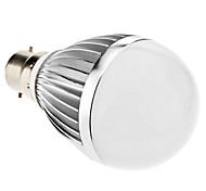 B22 LED Globe Bulbs A60(A19) 18 SMD 5730 810lm Warm White 3000K AC 85-265V