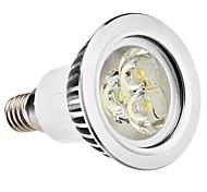 e14 gu10 led spotlight mr16 3 высокая мощность водить 250lm теплый белый натуральный белый 6500k ac 100-240v