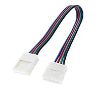 Недорогие -5050 SMD Красочный свет AWG22 светодиодные ленты Двусторонние соединения лампы (12V-24V)