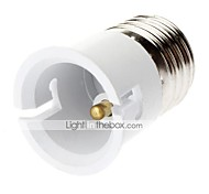 E27 to B22-B22 Light Bulb Adapter  High Quality Lighting Accessory
