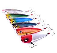 pcs Hard Bait Popper Black Green Silver Red Blue g/Ounce mm inch,Hard Plastic Sea Fishing Freshwater Fishing