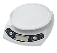 "1.7"" LCD Digital Kitchen Scale (7kg Max/1g Resolution)"