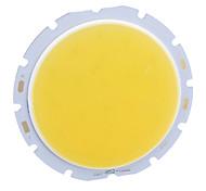 Недорогие -DIY 10W 800LM 3000K теплый белый свет COB светодиодный излучатель (32-36V)