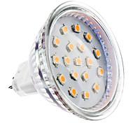 baratos -2W 150-200 lm GU5.3(MR16) Lâmpadas de Foco de LED MR16 15 leds SMD 2835 Branco Quente DC 12V